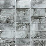 Мраморные смотреть серого цвета для струйной печати цифровая печать фрагмента стеклянной мозаики настенные плитки