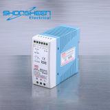 Mdr-40-12 Transformador de comutação de trilho DIN Marcação RoHS Aprovado Tamanho Mini 40W de potência L 12V