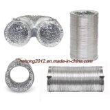 "Ventilación conducto desnudos de aluminio flexible"" (2~20"")."
