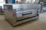 De Oven van het dek die volledig van Roestvrij staal wordt gemaakt