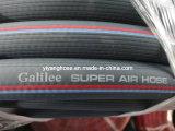 Tuyau d'air haute pression en PVC bleu foncé