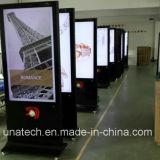 自由なLEDによってバックライトを当てられるLCDのビデオ広告の表示を立てる42inchの高さの品質