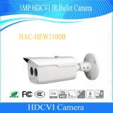Dahua 1MP Hdcvi CCTVの弾丸の機密保護のデジタルビデオ・カメラ(HAC-HFW1100B)