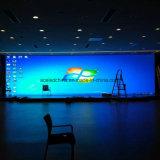 Pantalla de visualización video de interior de pared de la nueva del diseño pequeña echada P2.5 LED del pixel