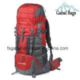 pacchetto trasversale del corpo 80L che si accampa facendo un'escursione lo zaino dei sacchetti di sport