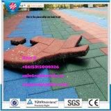 De binnen Bevloering van de Mat van de Gymnastiek Rubber, de Openlucht RubberBetonmolen van de Stoep