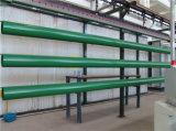 Grün angestrichenes Stahlrohr UL-FM