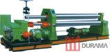 Placa que dobra-se, rolo que dobra-se, rolo do metal/máquina rolamento do metal/máquina de Durama da série três do rolo superior de rolamento mecânica