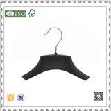 Hot Sale or vêtement en plastique crochet de suspension de la conception de crochet de suspension en plastique noir