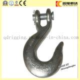 Gancho de enganche de horquilla de acero forjado G80 con pestillo de seguridad
