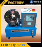 Produto de borracha que faz a maquinaria Uesd P52 portátil máquina de friso da mangueira hidráulica para a venda