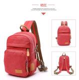 Neuer Entwurfs-elegante Fabrik-Preis-heiße Verkaufs-Segeltuch-Dame Backpack Bag