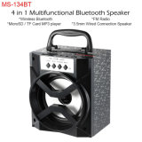 4 em 1 altofalante Multifunctional Ms-134bt de Bluetooth