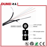 Cable de fibra óptica al aire libre de la fábrica 1core/2cores Gjyxcv FTTH