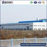 Taller prefabricado de la fábrica de la estructura de acero con la grúa (edificio de acero)