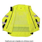 ANSI107証明書が付いている安全上着類(RW-003雨ジャケット)