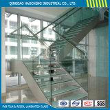 Het concurrerende Duidelijke Aangemaakte Gelamineerde Glas van de Prijs voor de Bouw van Glas