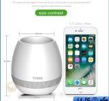 Musik-Blume Bluetooth Lautsprecher-Musik-Vase mit Lichtern der Muitl Farben-LED