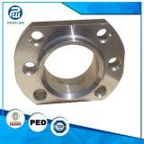 Glissade modifiée de la qualité AISI1029 sur la bride pour des pièces de machine