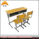 معدن إطار ضعف مكتب وكرسي تثبيت مدرسة طالب دراسة طاولة