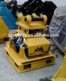 Certificado de Qualidade ISO e SGS Compactação / placa do Compactador para Escavadoras