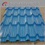 Folha de aço revestida da telhadura da cor ondulada de SGCC