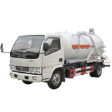 Dongfengの真空のトラック4cbmの下水の吸引のトラック