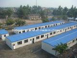 2개의 지면 조립식 가옥 또는 조립식으로 만들 모듈 집