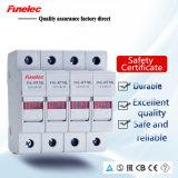 Sostenedor caliente del fusible de la venta 3p 4p 63A con el indicador del LED