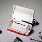 El libro 3D de la tarjeta surge y tira y empuja de la tabulación
