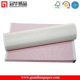 Papel de impressão térmica de alta qualidade para ECG / EKG
