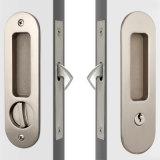 Fechamento redondo da porta deslizante da alta segurança da casa da face/fechamento de porta de vidro
