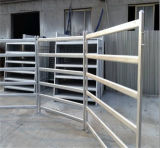 Стандарт 1.8mx2.1m Австралии 6 панелей скотин рельса штанги овальных
