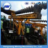 Bélier hydraulique utilisé dans la construction photovoltaïque d'ingénierie