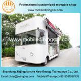 Acoplado móvil eléctrico de cuatro ruedas/carro comercial de la exposición para la venta