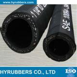 Manguito de goma hidráulico industrial R4 del SAE 100