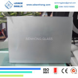 10mm bereifte die Satin-Säure, die Sandblasting ausgeglichenes Glas für Tür-Balustrade geätzt wurde