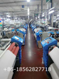 La leva de Tsudakoma máquina de tejer chorro de aire el telar de tejido Denim