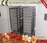 Trole grande Fully Automatic Chicken Egg Incubator de Model dois (YZITE-25)