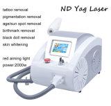 Rejuvenecimiento de la piel Equipo de Salón de Belleza ND YAG Laser Q Switch Laser Tattoo