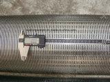 Tubo de la pantalla de Johnson del receptor de papel de la pantalla/de agua de alambre de la cuña del acero inoxidable con el acoplador de la cuerda de rosca