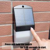 Nouvelle conception de la lumière solaire sans fil 25 LED mur du jardin du capteur radar pour l'extérieur de la lampe eclairage étanche