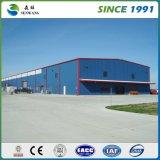 Edificios de acero prefabricados galvanizados venta al por mayor
