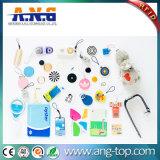 RFID reutilizable Smart Mini Tarjeta Cristal de resina epoxi para el pago electrónico