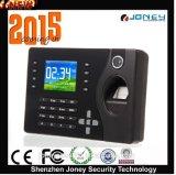 P2p temps système de présence d'empreintes digitales biométriques lecteur RFID modèle (JYF-C081)