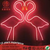 Voyant néon de flamants roses décorations