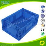 Caixa plástica dobrável do vegetal e da fruta para a agricultura