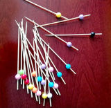 装飾の使い捨て可能なタケフルーツの棒