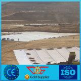 Niet-geweven die Geotextile van de Gloeidraad van 100% pp 200g per M2 in Dam wordt gebruikt