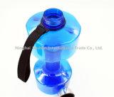 يحرّر [2.2ل] [ببا] [درينك وتر بوتّل] [بورتبل] دمبل شكل زجاجة
